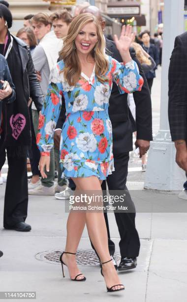 Hannah Brown is seen on May 16 2019 in New York City