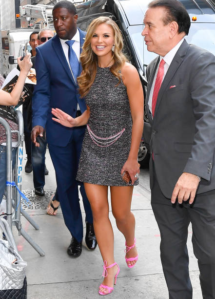 NY: Celebrity Sightings In New York City - August 21, 2019