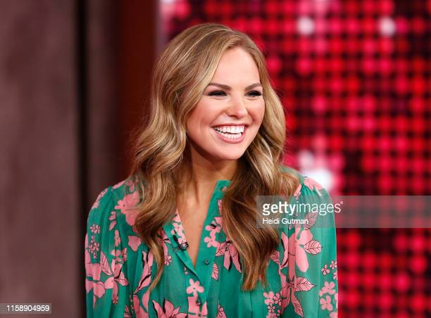 Hannah Brown of The Bachelorette is a guest on Good Morning America Wednesday July 31 2019 on the Walt Disney Television Network GMA19 HANNAH
