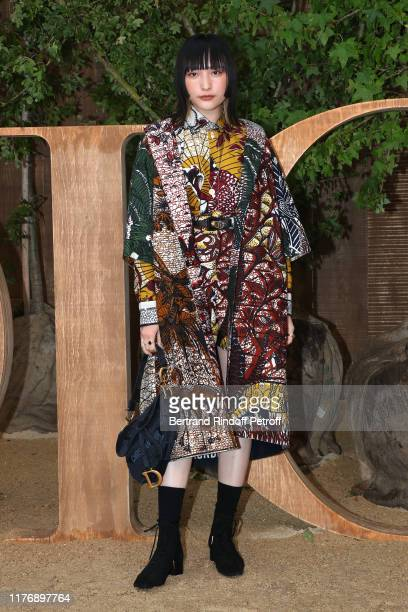Hannah Chan attends the Christian Dior Womenswear Spring/Summer 2020 show as part of Paris Fashion Week on September 24, 2019 in Paris, France.
