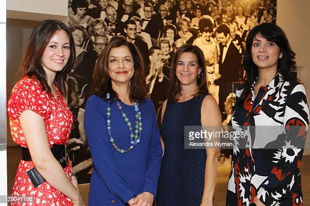Hannah Ciallella, Debra Black, Wendy Selig and Cecilia Moreno at Ladies' Luncheon hosted by Debra Black to Preview The Elizabeth Taylor Collection...