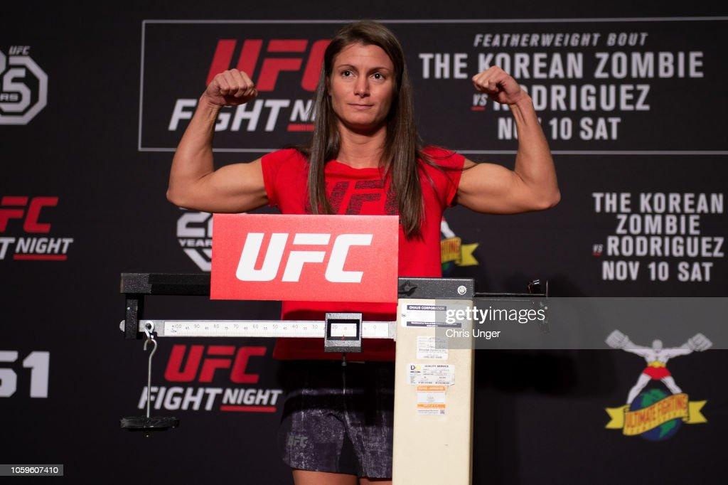 UFC Fight Night Weigh-Ins : Nieuwsfoto's