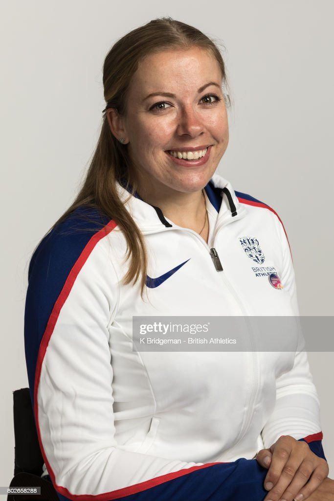 Hannah Cockcroft of Great Britain poses for a portrait during the British Athletics World Para Athletics Championships Squad Photo call on June 25, 2017 in Loughborough, England.