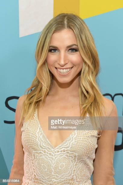Hannah Cranston at the 2017 Streamy Awards at The Beverly Hilton Hotel on September 26 2017 in Beverly Hills California