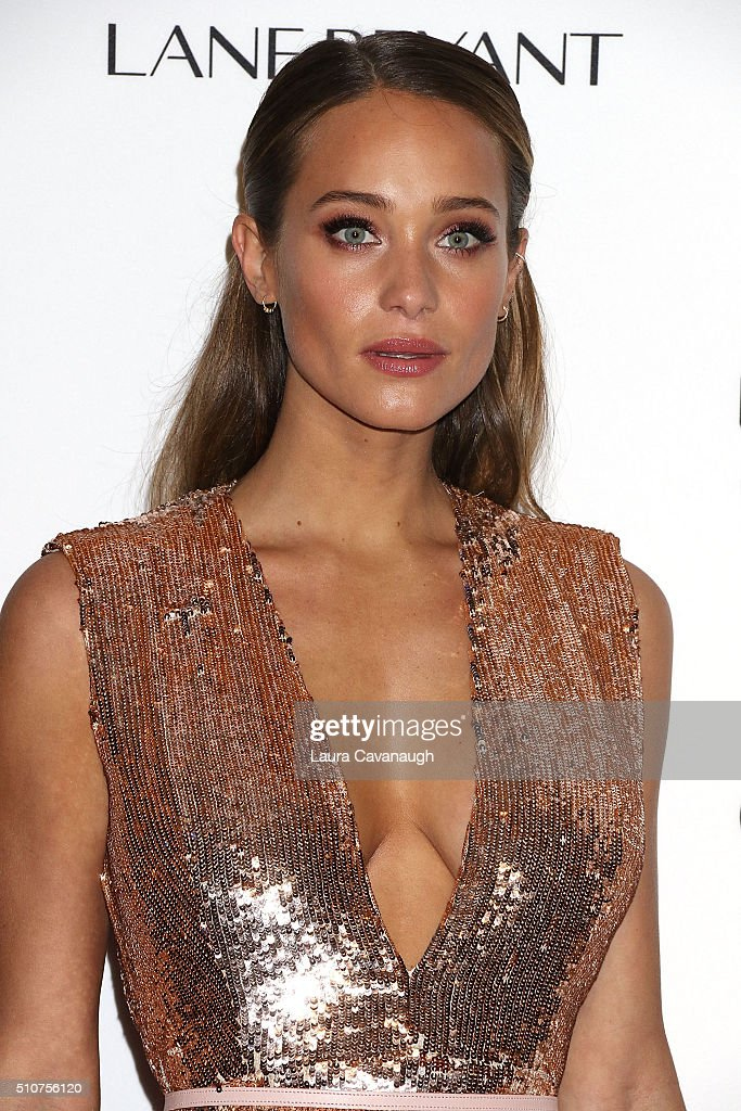 Hannah Davis attends Sports Illustrated Celebrates Swimsuit 2016 at Brookfield Place on February 16, 2016 in New York City.