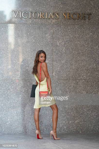 Hannah Donker attends casting for the 2018 Victoria's Secret Fashion Show in Midtown on August 30 2018 in New York City