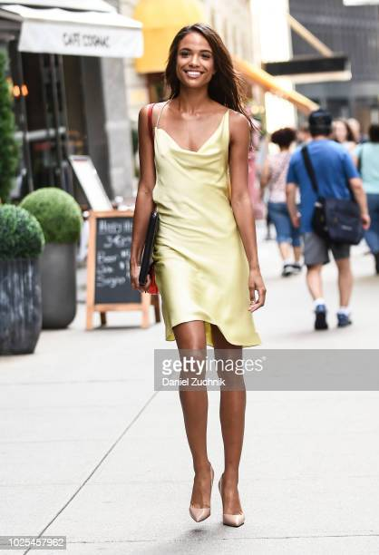 Hannah Donker attends the casting for the 2018 Victoria's Secret Fashion Show in Midtown on August 30 2018 in New York City