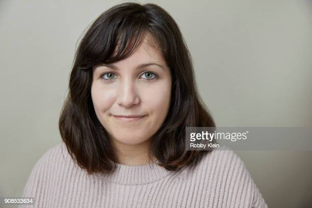 Hannah Fidell from the film 'The Long Dumb Road' poses for a portrait at the YouTube x Getty Images Portrait Studio at 2018 Sundance Film Festival on...