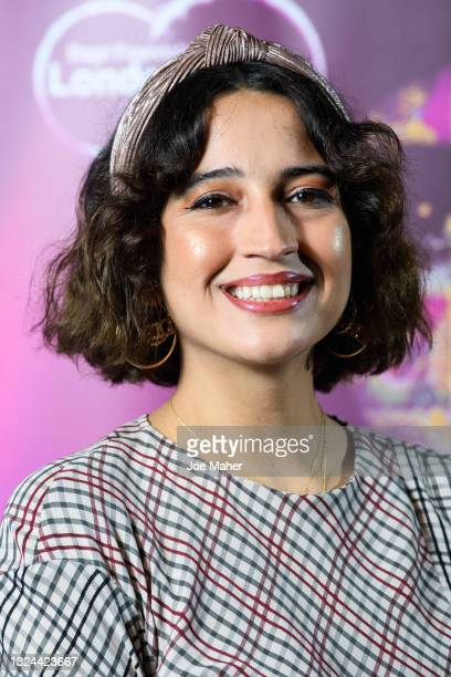 """Hannah Flint attends """"The Warrior"""" screening during London Indian Film Festival 2021 at BFI Southbank on June 19, 2021 in London, England."""