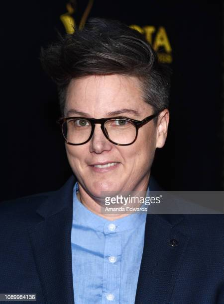 Hannah Gadsby arrives at the 8th AACTA International Awards at Mondrian Los Angeles on January 04 2019 in West Hollywood California