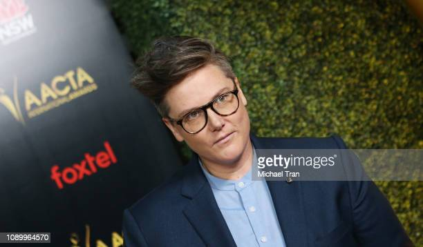 Hannah Gadsby attends the 8th AACTA International Awards held at Mondrian Los Angeles on January 04 2019 in West Hollywood California