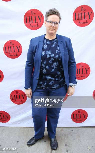 Hannah Gadsby attends the 9th Annual LILLY Awards at the Minetta Lane Theatre on May 212018 in New York City