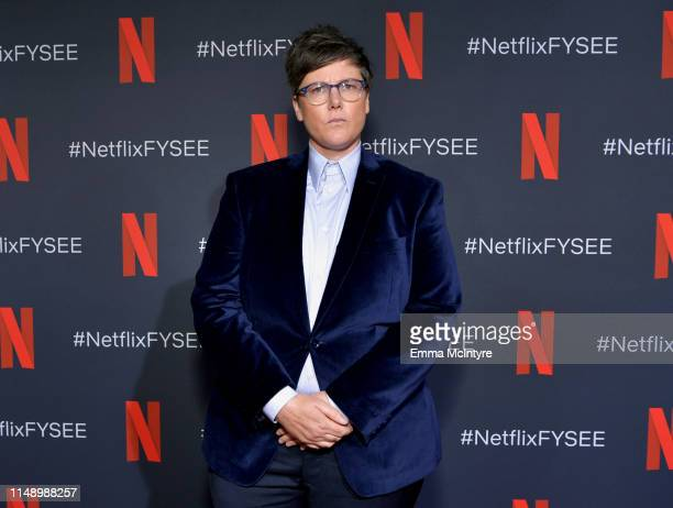 Hannah Gadsby attends the FYSEE Hannah Gadsby conversation and reception at Raleigh Studios on May 13 2019 in Los Angeles California