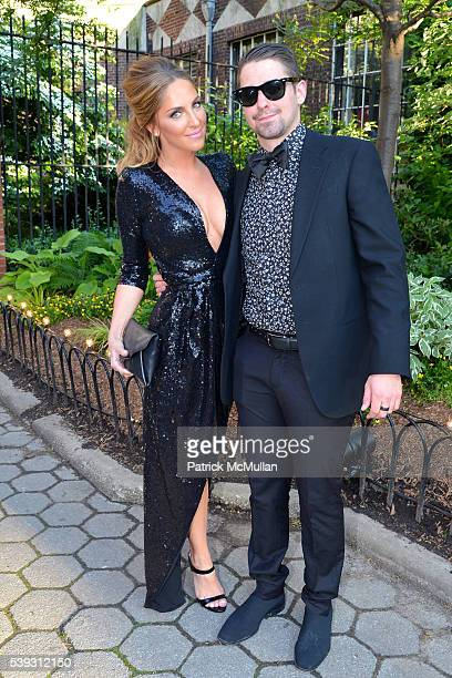 Hannah Gershenson and Aaron Gershenson attend the Wildlife Conservation Society We Stand for Wildlife at Central Park Zoo on June 9 2016 in New York...