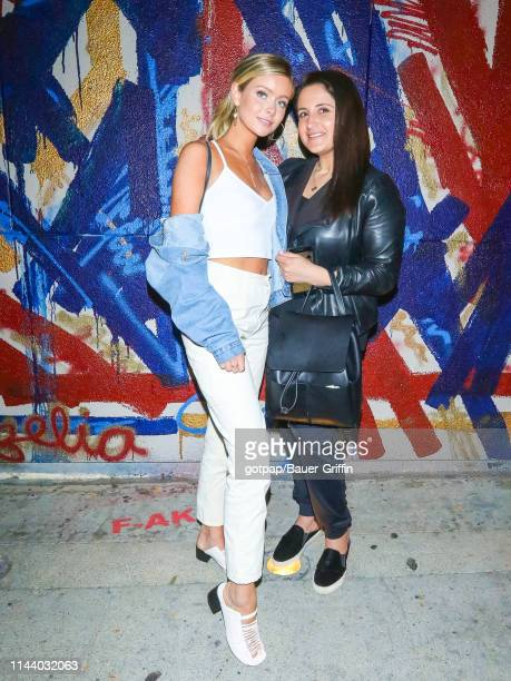 Hannah Godwin and Laurie Krebs are seen on May 15 2019 in Los Angeles California