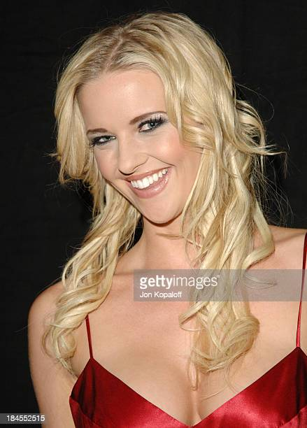 Hannah Harper Sin City Contract Performer during 2006 AVN Awards Arrivals and Backstage at The Venetian Hotel in Las Vegas Nevada United States