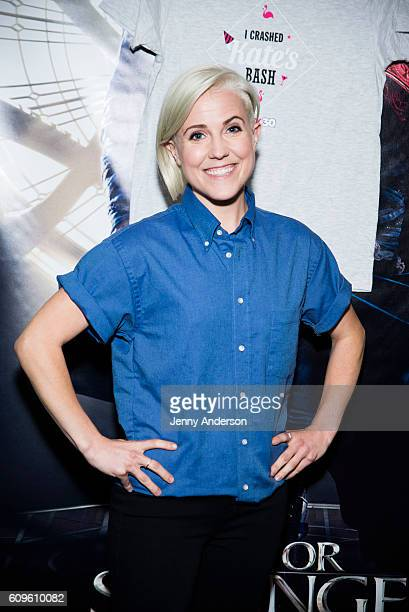 Hannah Hart attends 'Dirty 30' New York Screening at AMC Loews 19th Street Theater on September 21 2016 in New York City