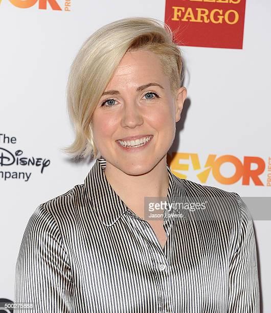 Hannah Hart attends TrevorLIVE LA 2015 at Hollywood Palladium on December 6 2015 in Los Angeles California