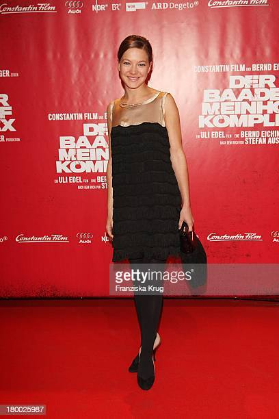 Hannah Herzsprung Bei Der Premiere Von Der Baader Meinhof Komplex Im Delphi Filmpalast In Berlin
