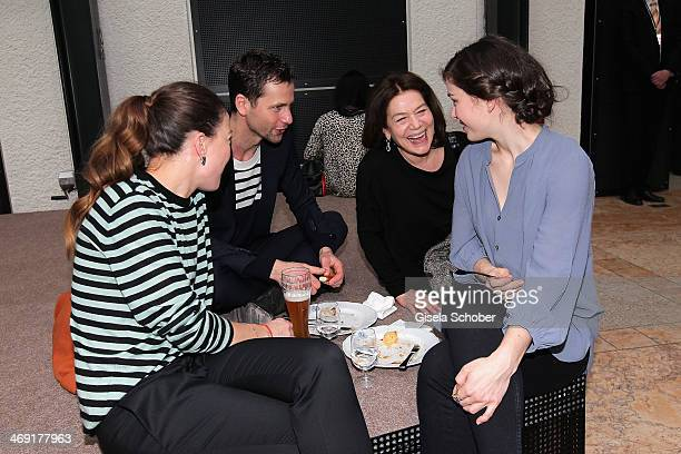 Hannah Herzsprung Florian Stetter Hannelore Elsner and Henriette Confurius attend the FilmFernsehFonds Bayern reception at Bayerische...