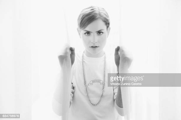Hannah Hoekstra poses during the Portrait Session presenting the European Shooting Stars 2017 during the 67th Berlinale International Film Festival...