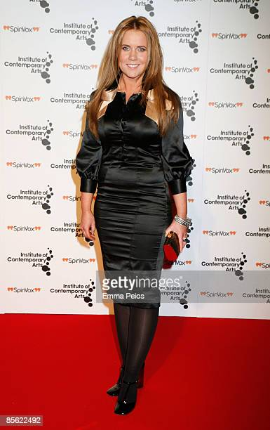 Hannah Ild attends the ICA annual ''Figures of Speech'' fundraising gala at The Brewery on March 26, 2009 in London, England.