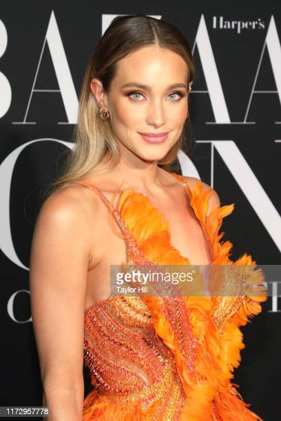 Hannah Jeter attends the 2019 Harper ICONS Party at The Plaza Hotel on September 06 2019 in New York City