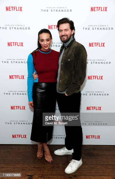 Hannah John-Kamen and Richard Armitage attend 'Harlan Coben's The Stranger' screening and Q&A, which premieres on Netflix from 30 January 2020, at...