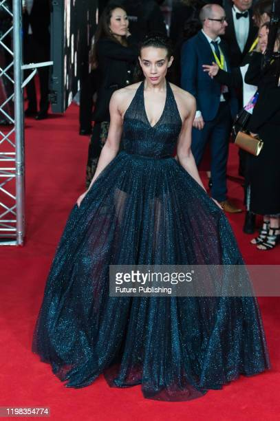 Hannah John-Kamen attends the EE British Academy Film Awards ceremony at the Royal Albert Hall on 02 February, 2020 in London, England.- PHOTOGRAPH...