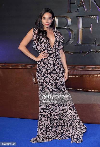 Hannah JohnKamen attends the European premiere of Fantastic Beasts And Where To Find Them at Odeon Leicester Square on November 15 2016 in London...