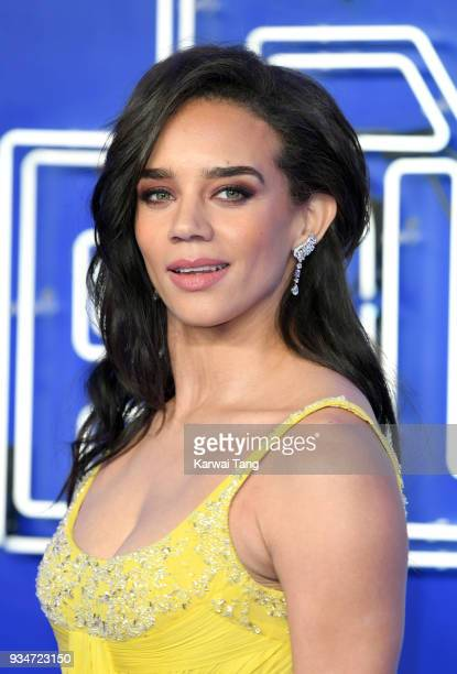 Hannah JohnKamen attends the European Premiere of 'Ready Player One' at Vue West End on March 19 2018 in London England