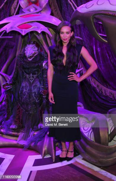 Hannah JohnKamen attends the European Premiere of The Dark Crystal Age of Resistance at the BFI Southbank on August 22 2019 in London England