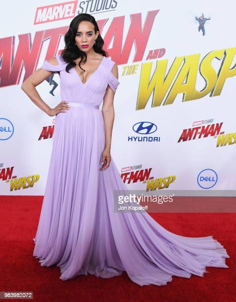 Hannah JohnKamen attends the premiere of Disney And Marvel's 'AntMan And The Wasp' at the El Capitan Theater on June 25 2018 in Hollywood California
