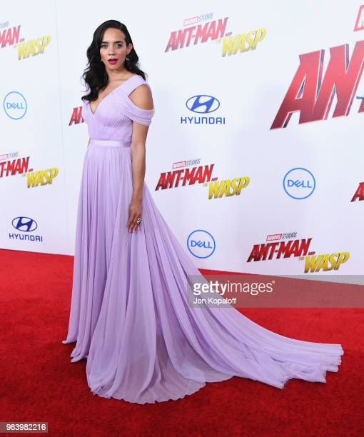 Hannah JohnKamen attends the premiere of Disney And Marvel's AntMan And The Wasp at the El Capitan Theater on June 25 2018 in Hollywood California