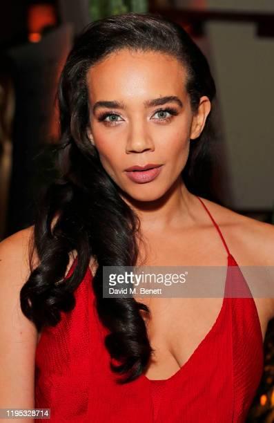 Hannah John-Kamen attends the Vanity Fair EE Rising Star Award Party ahead of the 2020 EE BAFTAs at The Standard London on January 22, 2020 in...