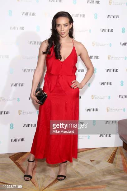 Hannah John-Kamen attends the Vanity Fair EE Rising Star BAFTAs Pre Party at The Standard on January 22, 2020 in London, England.