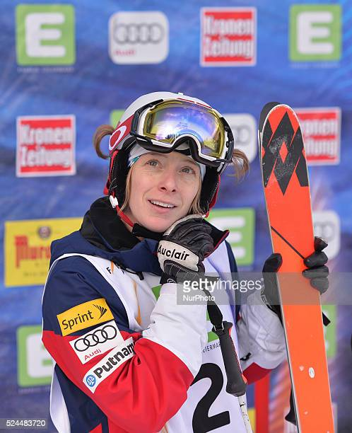 Hannah Kearney wins Gold in Ladies' Dual Moguls final at FIS Freestyle World SKI Championship 2015 in Kreischberg Austria 19 January 2015 Photo by...