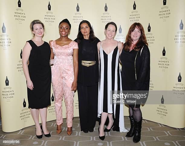Hannah Kent Chimamanda Ngozi Adichie Jhumper Lahiri Audrey Magee and Eimear McBride are the Authors shortlisted for the 2014 Baileys Women's Prize...
