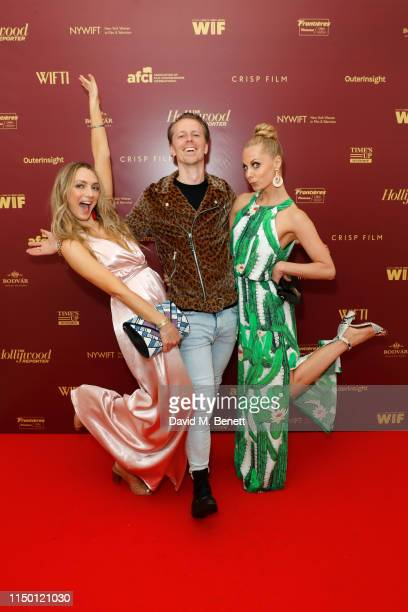 Hannah Levien Fredrik Wagner and Hanna Malmberg attend WOMEN hosted by WIFTI NYWIFT Hollywood Reporter WIF LA AFCI Frontieres Crisp Film Bodvar and...