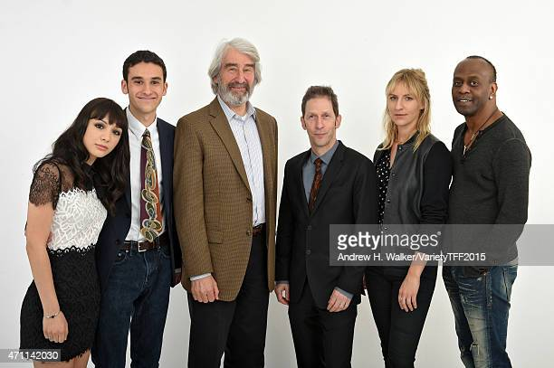 Hannah Marks Ben Konigsberg Sam Waterston Tim Blake Nelson Mickey Sumner and K Todd Freeman from 'Anesthesia' appear at the 2015 Tribeca Film...