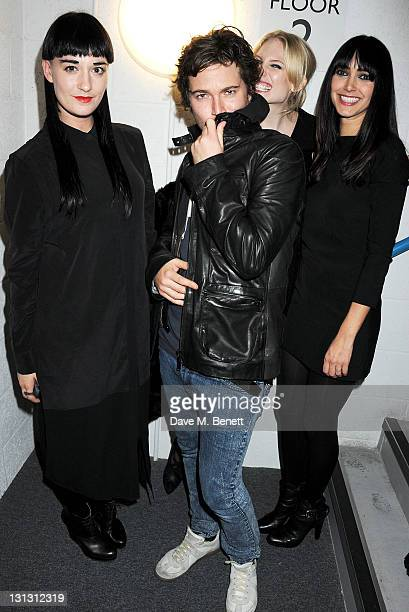 Hannah Marshall and Tuuli Shipster attend the Dazed Confused 20th Anniversary Party coinciding with the launch of Dazed's new book 'Making It Up As...