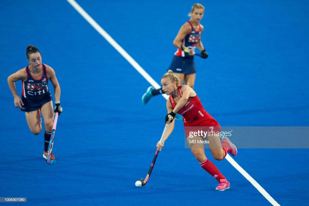 USA v England - FIH Womens Hockey World Cup : News Photo