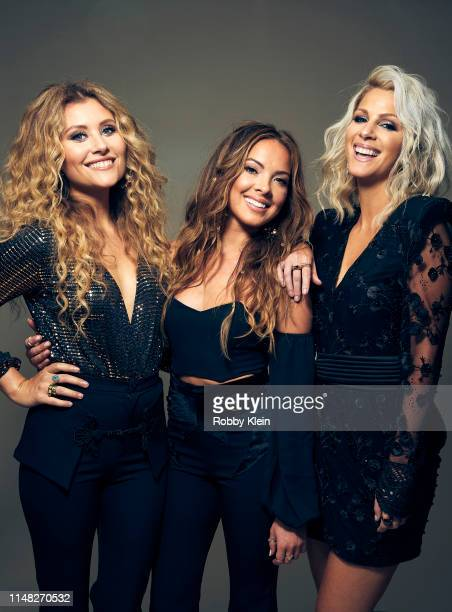 Hannah Mulholland Naomi Cooke and Jennifer Wayne of Runaway June pose for a portrait during the 2019 CMT Music Awards at Bridgestone Arena on June 05...