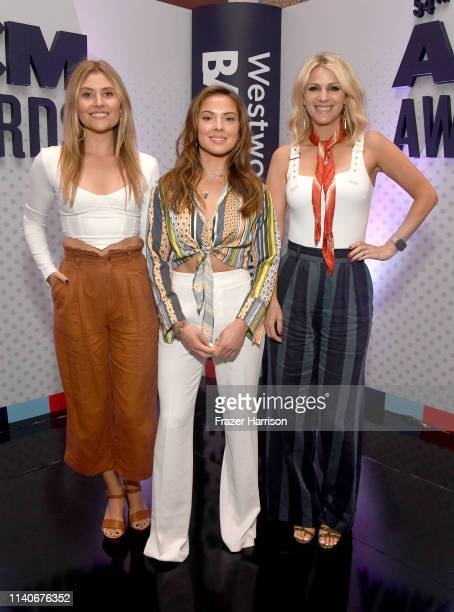 Hannah Mulholland Naomi Cooke and Jennifer Wayne of Runaway June attend the 54th Academy Of Country Music Awards Cumulus/Westwood One Radio Remotes...