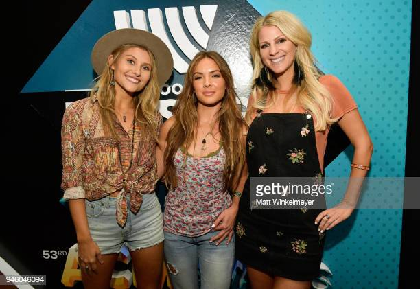 Hannah Mulholland Naomi Cooke and Jennifer Wayne of Runaway June attend the 53rd Academy of Country Music Awards Cumulus/Westwood One Radio Remotes...
