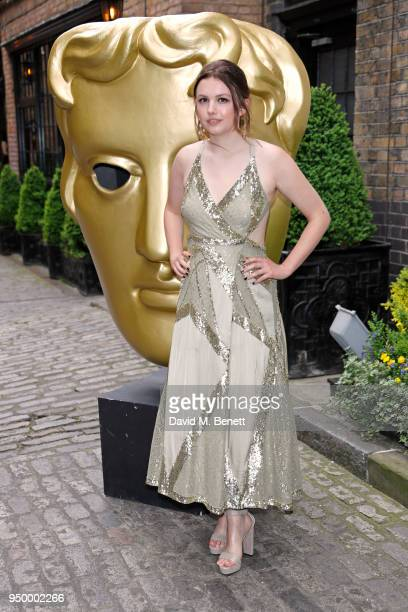 Hannah Murray arrives at the British Academy Television Craft Awards held at The Brewery on April 22 2018 in London England
