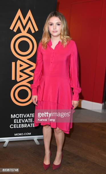 Hannah Murray attends a screening of 'Detroit' in association with MOBO at Ham Yard Hotel on August 17 2017 in London England