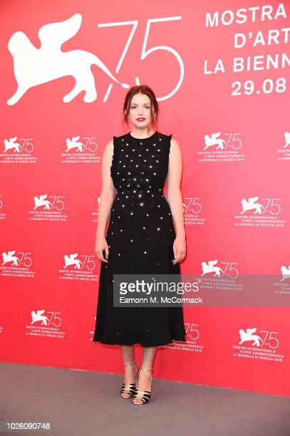 Hannah Murray attends 'Charlie Says' photocall during the 75th Venice Film Festival at Sala Casino on September 2 2018 in Venice Italy