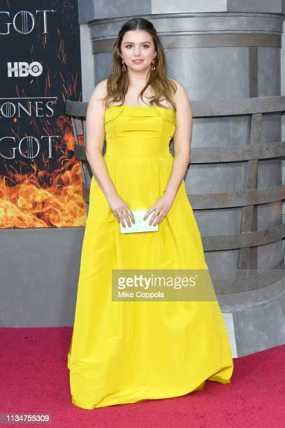 Hannah Murray attends the Game Of Thrones season 8 premiere on April 3 2019 in New York City