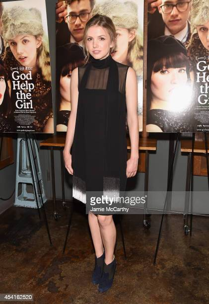 Hannah Murray attends the God Help The Girl New York Special Screening at Nitehawk Cinema on August 25 2014 in New York City